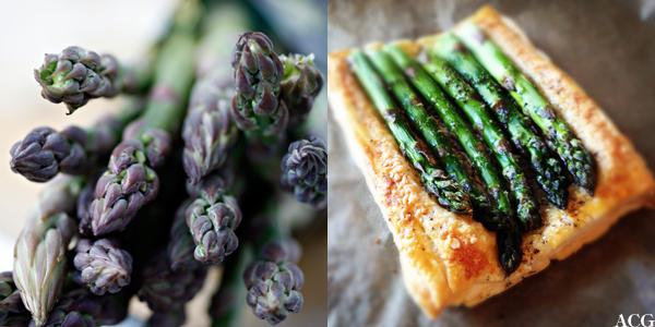aspargespai og asparges